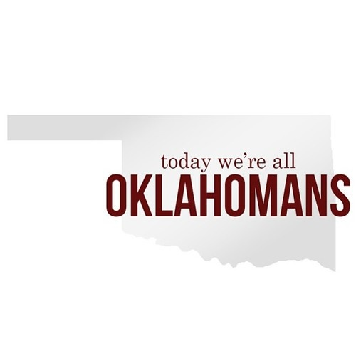 If you would like to leave a message of condolence for the victims of this week's storms, please do so on our University of Oklahoma Facebook Page. #oklahomastrong