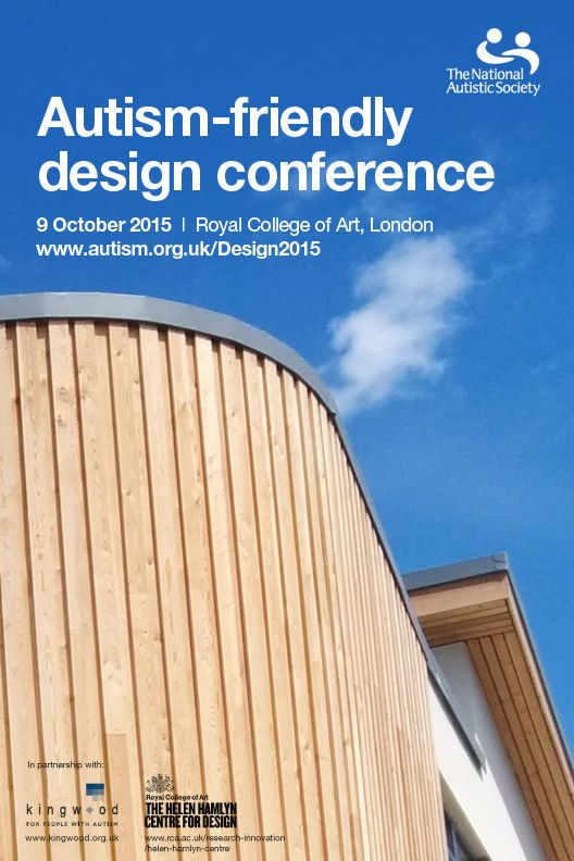 Autism-Friendly Design Conference, 9 October 2015