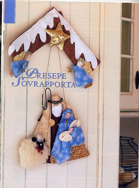 Presepio de porta... | Flickr - Photo Sharing!
