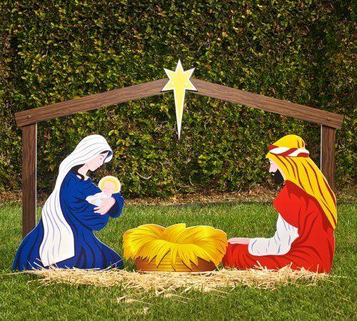 Classic Outdoor Christmas Nativity Scene - Holy Family Set by Outdoor Nativity Store, http://www.amazon.com/dp/B0041LGS32/ref=cm_sw_r_pi_dp_EtgQqb03XR25B