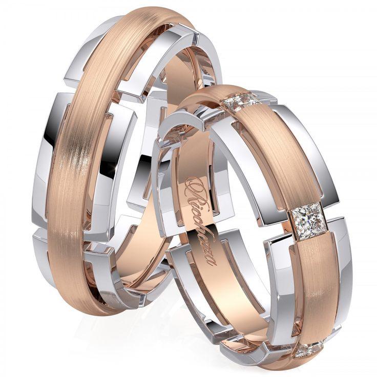 Авторский дизайн этих колец был тщательно продуман нашими специалистами и дизайнерами. Неповторимые линии, безупречная пластика в драгоценном металле и сияющие бриллианты. Все что нужно, чтобы именно Ваша свадьба стала действительно эксклюзивной.  Обручальные кольца с бриллиантами - это ,безусловно, уже традиция. Кольца украшают самым прочным в мире драгоценным камнем, символом бесконечной надежности, вечности и благополучия. Обручальные кольца