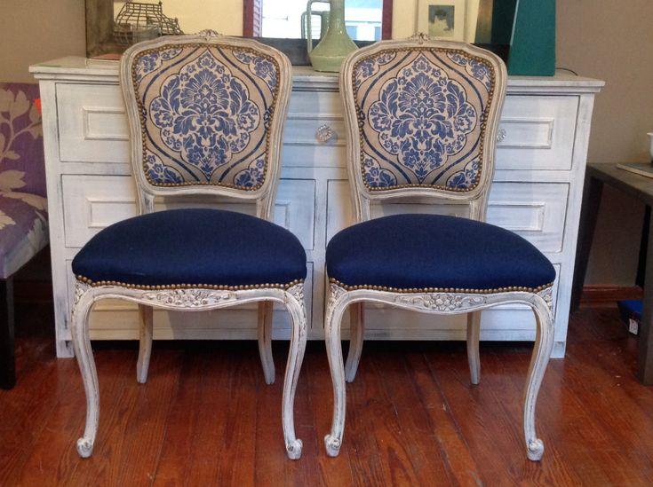 M s de 1000 ideas sobre sillas antiguas en pinterest - Como tapizar sillas antiguas ...