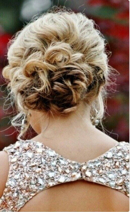 Prom hairstyle #updo
