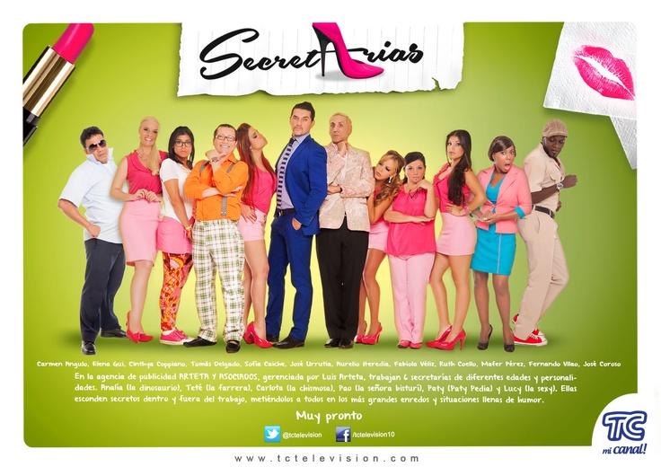 #Secretarias muy pronto por TC Mi Canal.