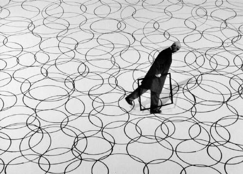 Gilbert Garcin La différence - The difference, 2004