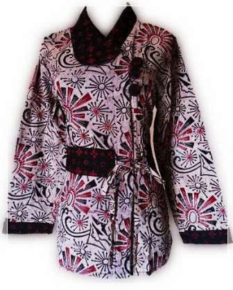 Model Baju Batik Modern Yang Mantap Dan 30 Model Baju Batik Kerja Desain  Terbaik Mewah   5b5ea6d9d7
