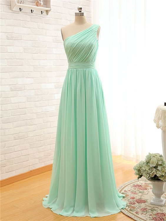 Nice Mint Prom Dresses, Dream Dresses, Long Dresses, Formal Dresses,MB 94