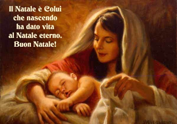 """""""Cari figli, donatemi le vostre vite e abbandonatevi totalmente a me, affinché io possa aiutarvi a capire il mio amore materno e l'amore del mio Figlio verso di voi. Figli miei, io vi amo immensamente e oggi in modo particolare, nel giorno della nascita del mio Figlio, vorrei accogliere ognuno di voi nel mio grembo materno, ogni vostro cuore ed ogni vostra vita donarla al mio Figlio..."""""""