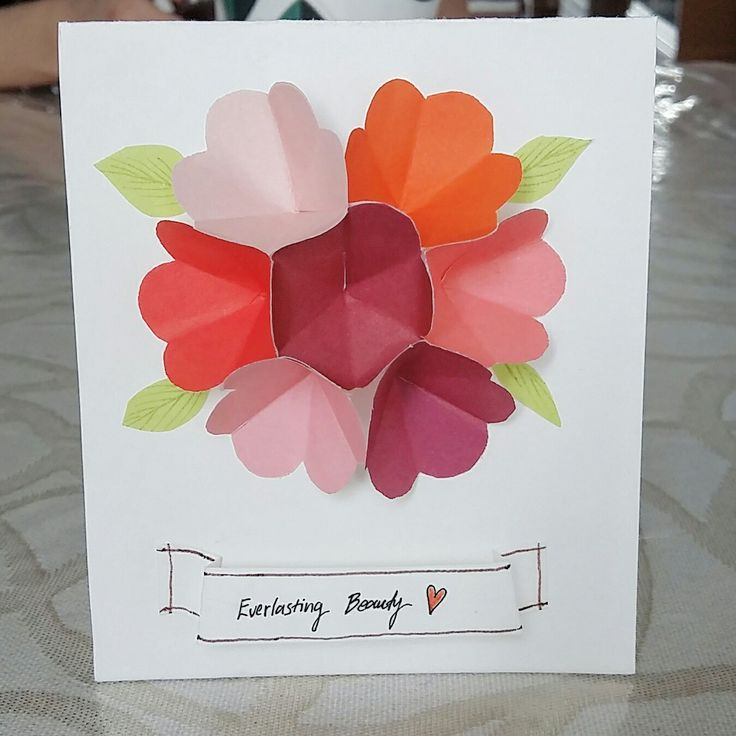 Mother's Day Card! #handmadebykellylip #mothersday #byheart #3Dcard