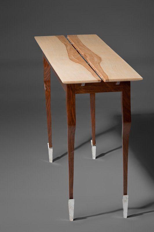Side Table Hall Table by John Herbert, Boston Furniture Collaborative