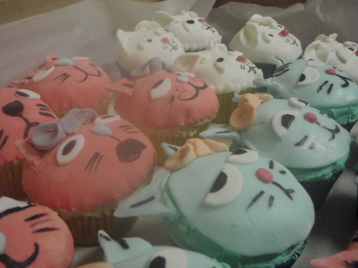 cupcakes for SPCA fundraising