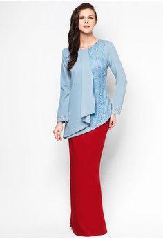 Chantilly Cayla Baju Kurung