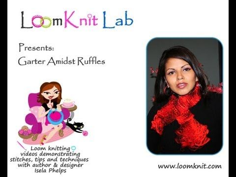 Loom Knit Lab.  The patterns in this website have been created over a period of time using some of the most popular knitting looms on the market, such as Provo Craft's Knifty Knitters and Decor Accents, Inc. The designs were created by Isela Phelps, author of Loom Knitting Primer: a Beginner's Guide to Loom Knitting.