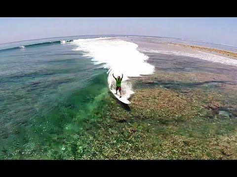 Surfing Blue Bowls, Maldives / DJI Phantom 2 Drone HD - YouTube