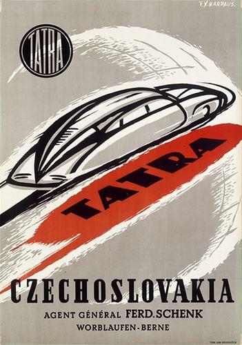 Swiss Tatra poster