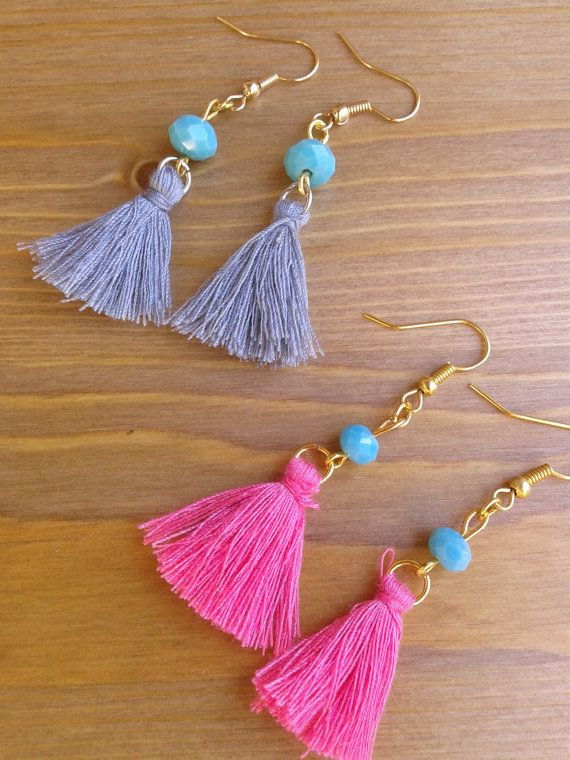 handmade earrings by toocharmy on Etsy
