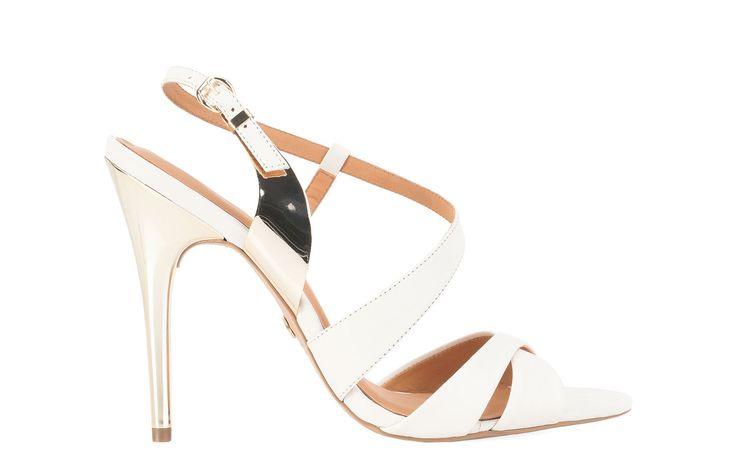 Kremowe sandały 24548-16226-01-29 z kolekcji 2014 - sklep internetowy Kazar #Kazar