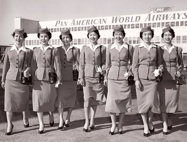 Hey, ABC- Remember how Pan Am employed numerous Japanese Nisei stewardesses during the 50's