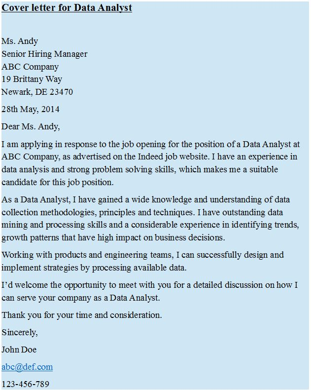 Cover letter for data analyst pin for Cover letter for intelligence analyst position