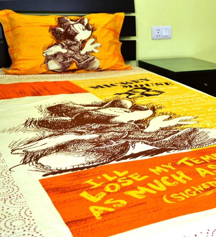 Disney Birla Century Bed Sheet
