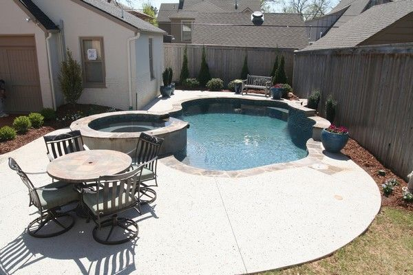 39 best pool ideas for small yard images on pinterest for Pool design okc