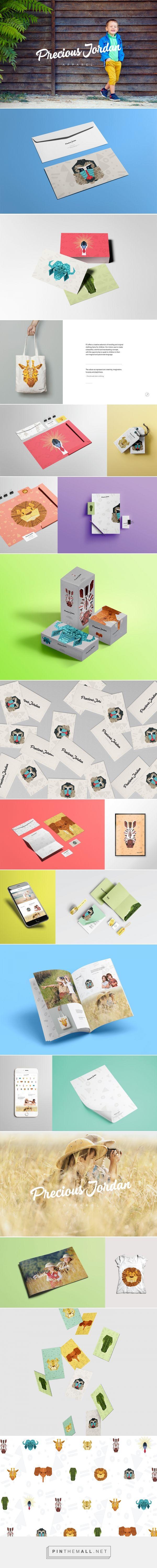 Precious Jordan Apparel Branding on Behance | Fivestar Branding – Design and Branding Agency & Inspiration Gallery