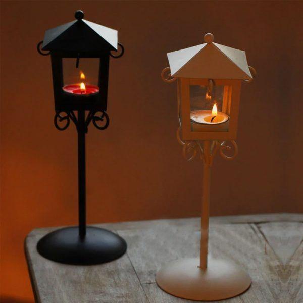 candelabros altos