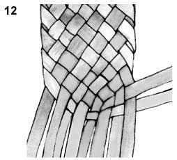 Плетем лапти из газетных трубочек (9) (254x230, 30Kb)