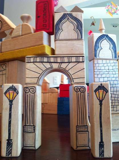 DiY architectural building blocks instructable