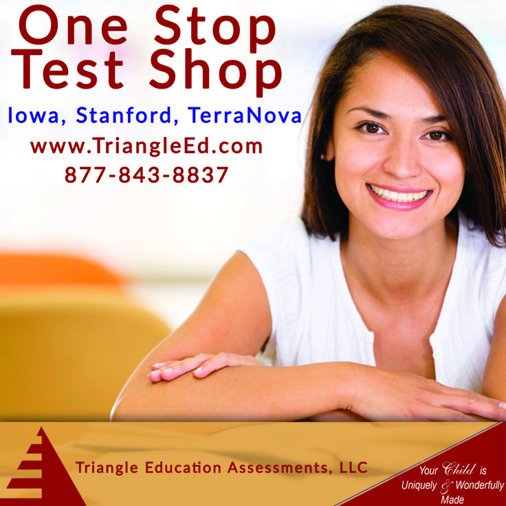 We are a one-stop shop for all of your achievement and cognitive testing needs. At Triangle Assessments, your success is our priority.  Our helpful staff members are ready to assist you in choosing the right tests or helping you with questions you might have.  Please browse our website or call us today at 919-387-7004 for more information.