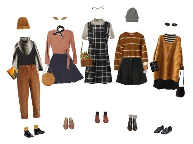"""""""Conflicted About The Seasons"""" by silentmoonchild ❤ liked on Polyvore featuring Hermès, Samuji, Nina Ricci, Yves Saint Laurent, Studio TMLS, Steve J & Yoni P, T By Alexander Wang, Miu Miu, Moschino and Opening Ceremony"""