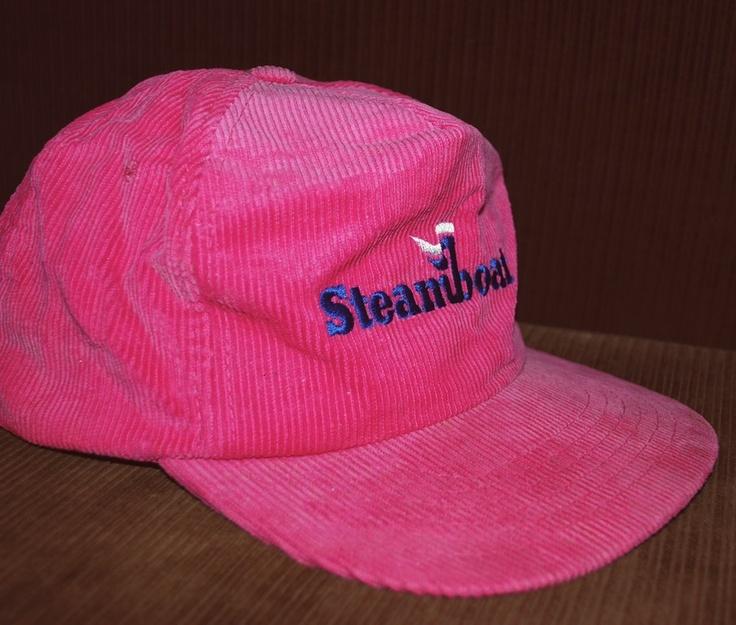 ski brand baseball caps hats doo vintage steamboat corduroy hat cap pink