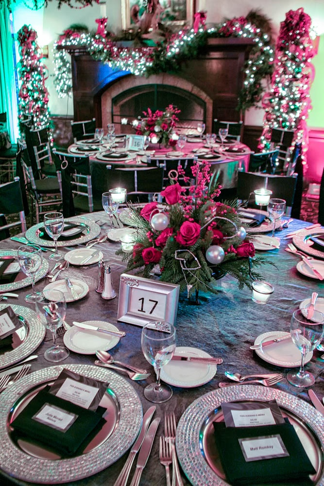 Planning the corporate Christmas party Napkin fold