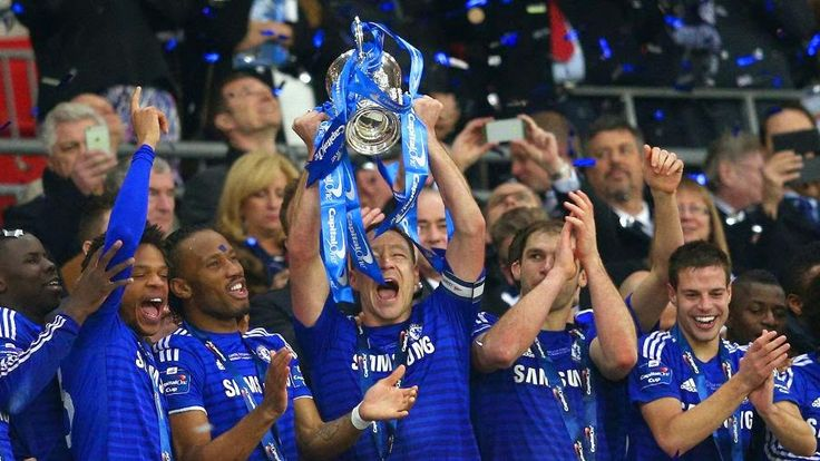 Chelsea claim Capital One Cup glory against Tottenham at Wembley ~ Latest Soccer News Updates