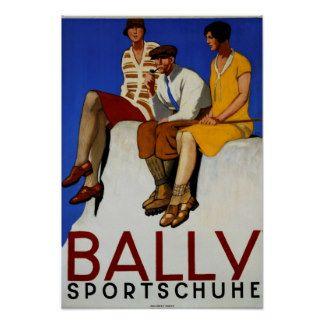 Bally Sportschuhe Poster
