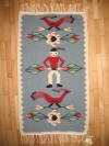 Handmade romanian traditional small rugs imported - Ontario Canada