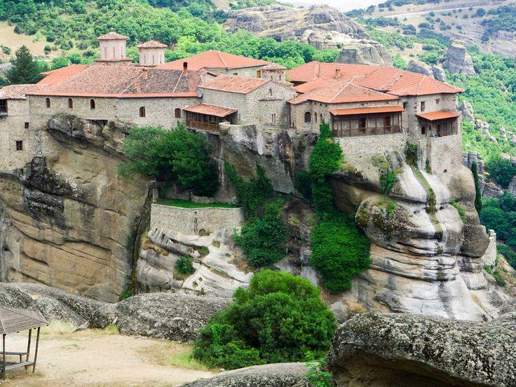 Holy Monastery of Varlaam, Greece : Europe : TravelChannel.com