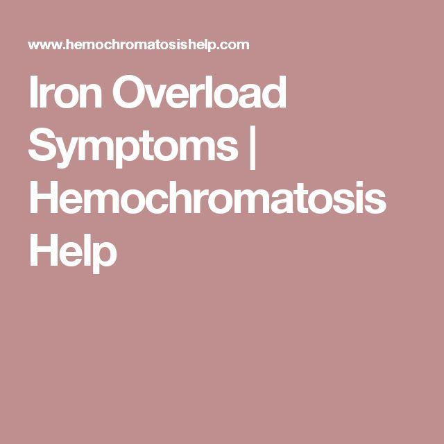 17 Best ideas about Hemochromatosis Treatment on Pinterest ...