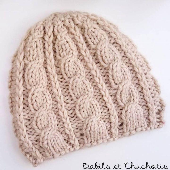 Les 25 meilleures id es de la cat gorie bonnet enfant sur pinterest bonnet fille chapeaux - Comment faire des torsades au tricot ...