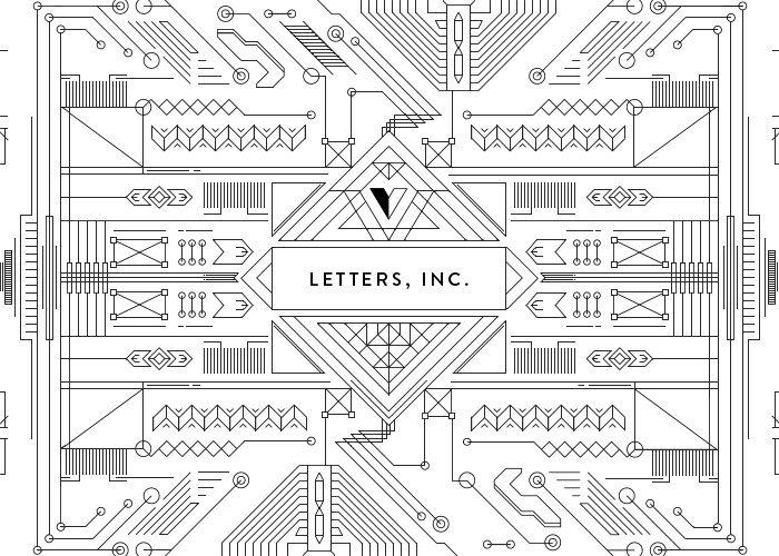 LETTERS, INC. #webdesign #inspiration #UI
