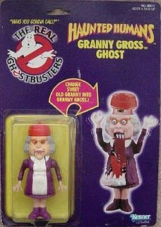 I collect these old Ghostbusters toys bc I know the guy that helped design them. They are super creative and super hard to find. My collection is currently at 2 :(