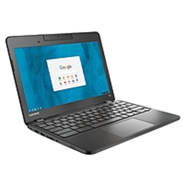 Lenovo N23 80YS0003US 11.6 LCD Chromebook - Intel Celeron N3060 Dual-core (2 Core) 1.60 GHz - 4 GB LPDDR4 - 16 GB Flash Memory - Chrome OS - 1366 x 768 - Black - Intel HD Graphics 400 LPDDR4 - Bluetooth - English (US) Keyboard - Front Camera/Webcam - IEE