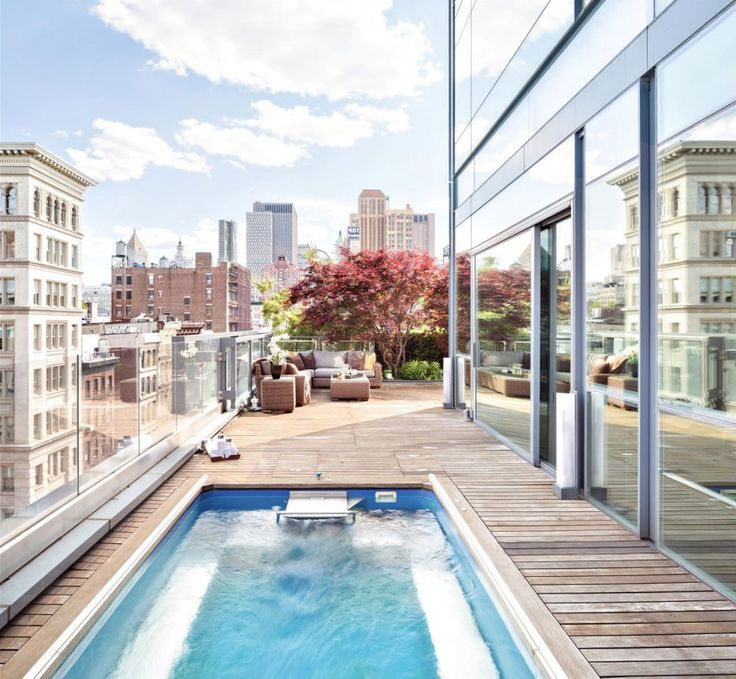 The Jewel of 40 Mercer THIS IS TRULY A GEM...FAB ROOFTOP POOL AMAZING! YES, I WILL TAKE 2..BDONNA