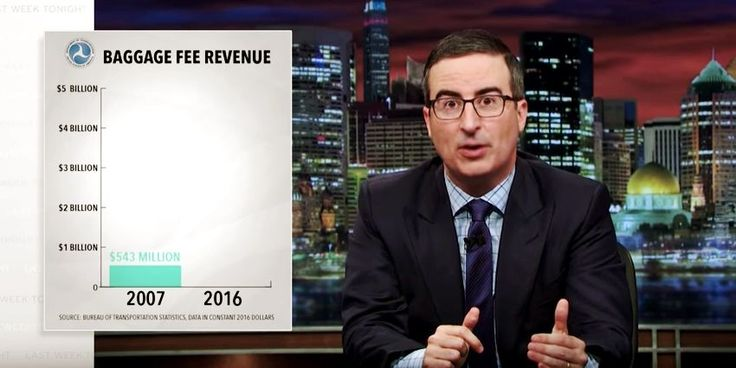 John Oliver Explained How Airlines and Cable Companies Make Your Life Hell