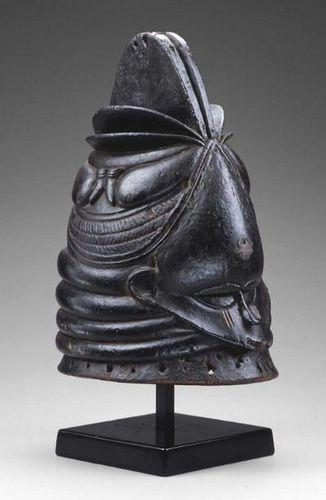 Sierra Leone- Vai Helmet Mask: female beauty, puberty celebration