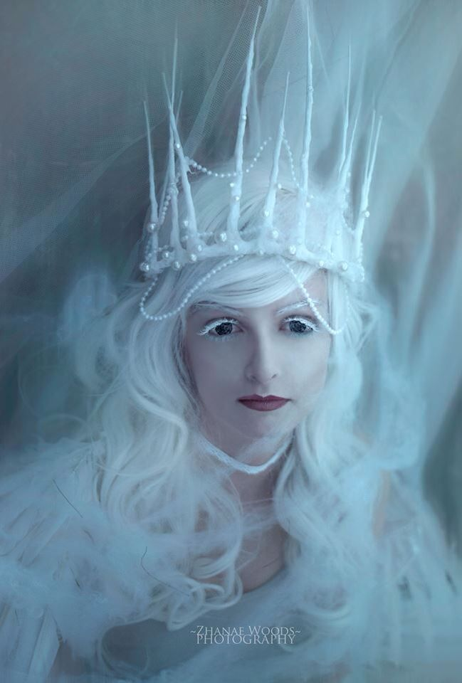 Rise of the Guardians of Mother Nature • Part Three • Depression  Model; Aisaka Dream Make up Artist; Haley McGregor Crown, wings and photography by Zhanae Woods Photography