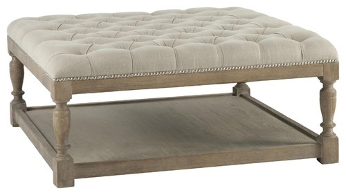 Aidan Gray AG Basics Cole Coffee Table/Ottoman - modern - ottomans and cubes - Candelabra - THIS IS WHAT I WANT FOR MY LIVING ROOM... but need to find for cheaper