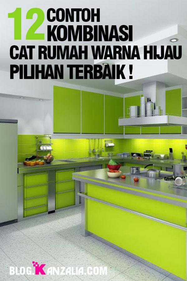Contoh Kombinasi Cat Rumah Warna Hijau Yang Keren Di 2021 Rumah Warna Hijau