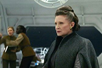 Carrie Fisher in Star Wars: Episode VIII - The Last Jedi (2017)