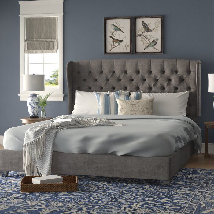 Canora Grey Lora Upholstered Standard Bed Reviews Wayfair Furniture Bed Sizes Upholstered Platform Bed